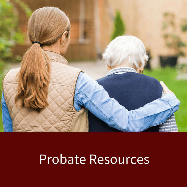 Probate-Resources