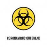 Coronavirus icon logo